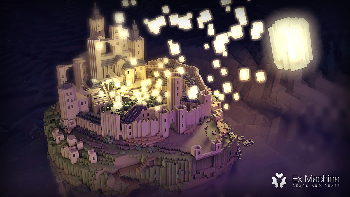 Tangled Castle And Lanterns On Behance