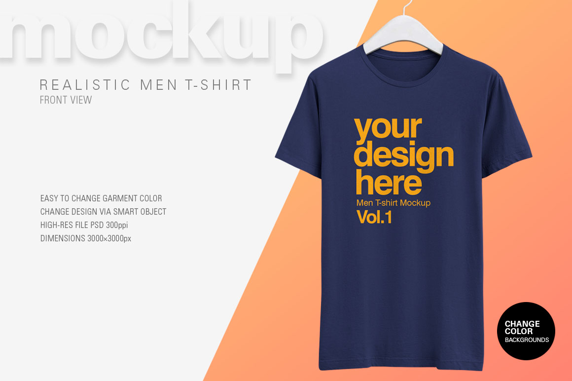 Free Realistic T Shirt Mockup On Behance