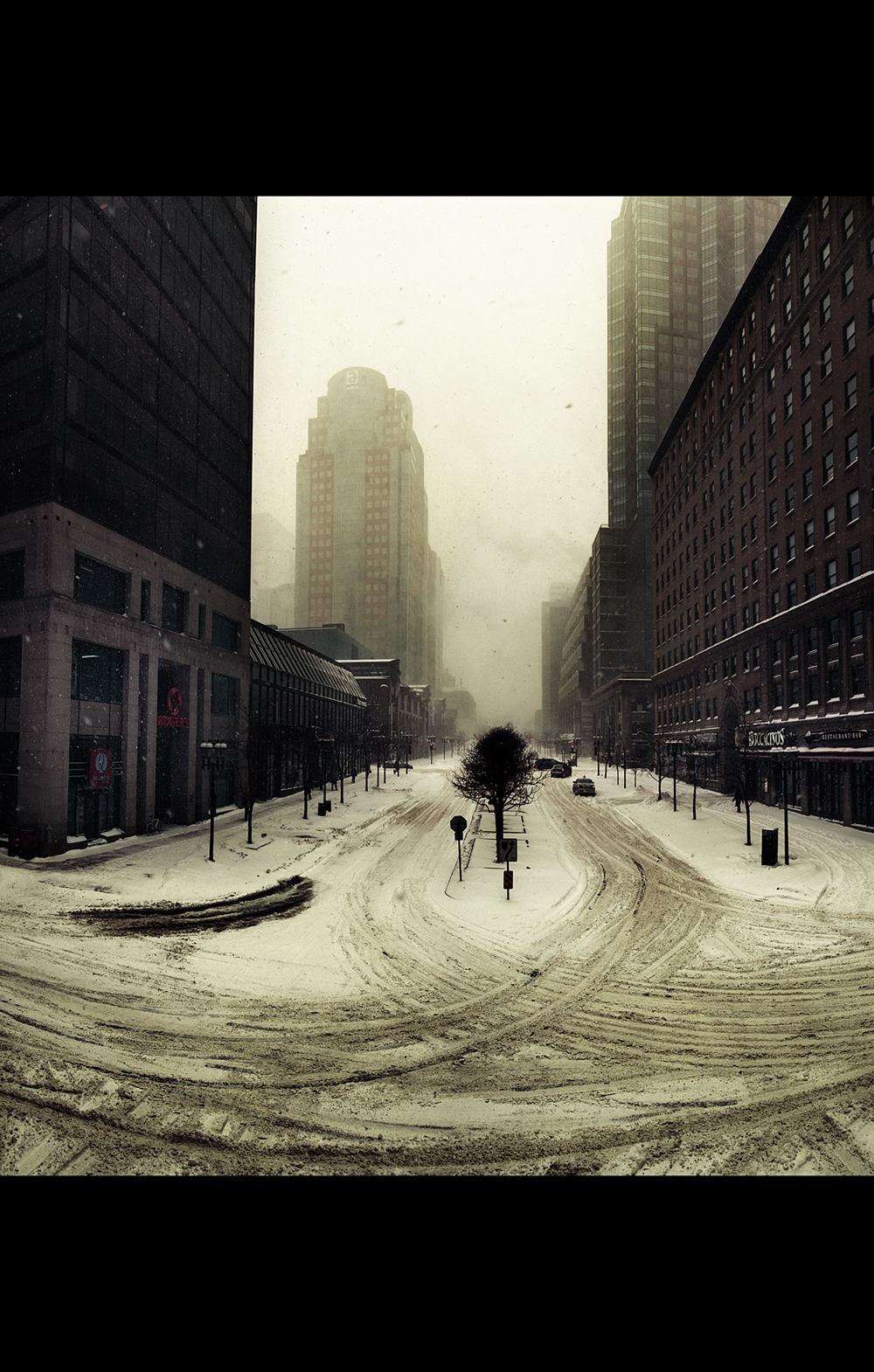 """Montreal """"early sunday morning"""" """"julien coquentin"""" Quebec Canada Street rain seasons winter snow autumn city"""