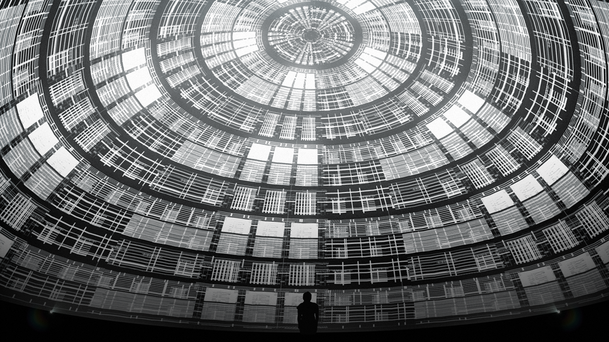 A/V Performance Mapping dome motion immersive