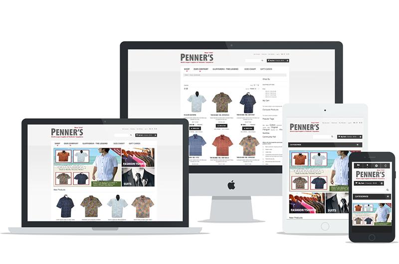 Ecommerce Web mobile