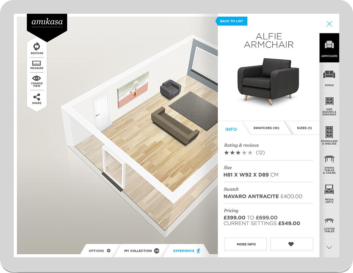 Amikasa Interior Designer App On Behance