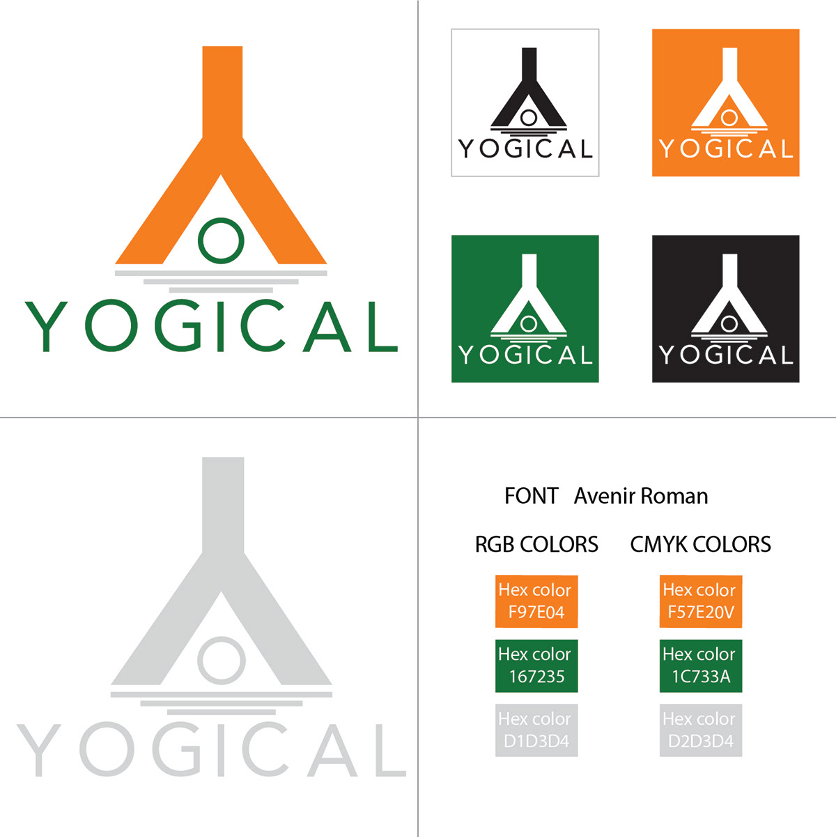 Yogical Body Care Products on Behance