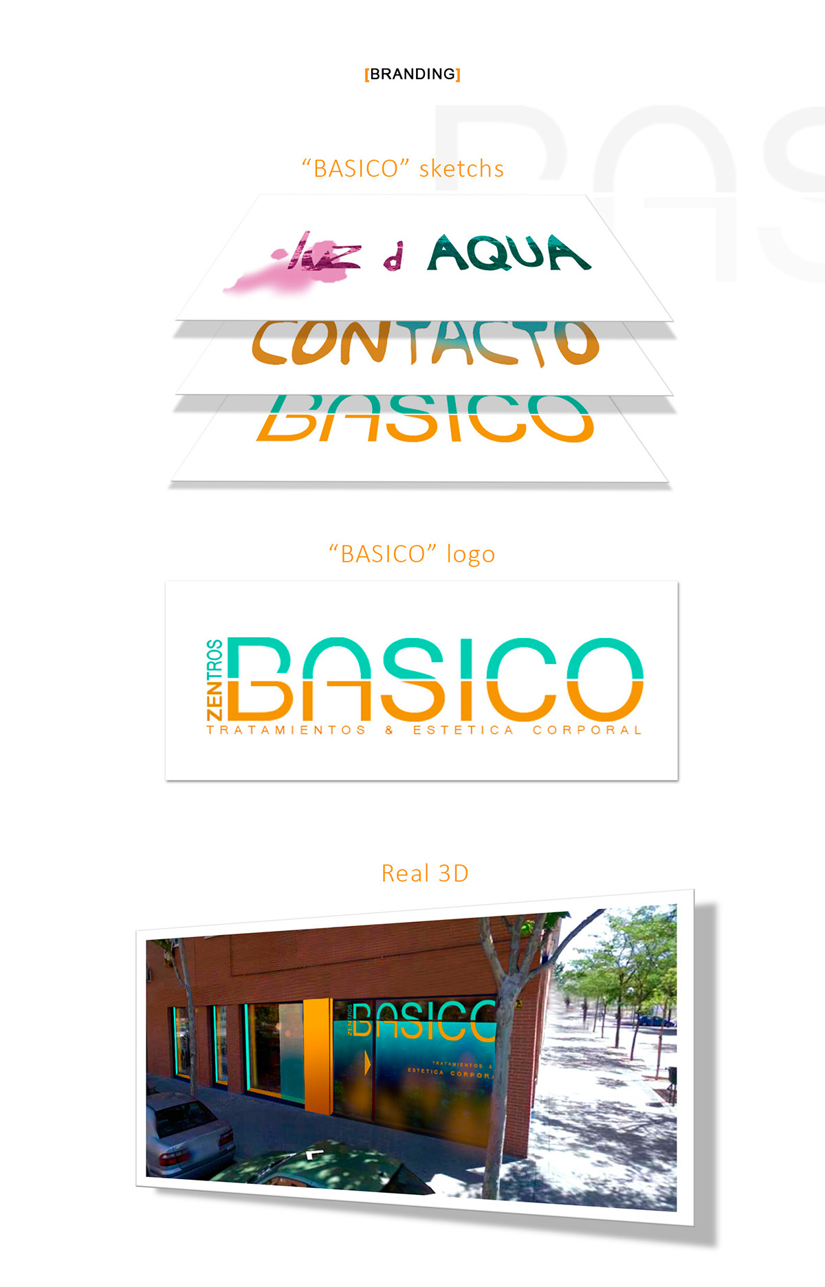 ux Web Design  brand and corporate imagen de marca design