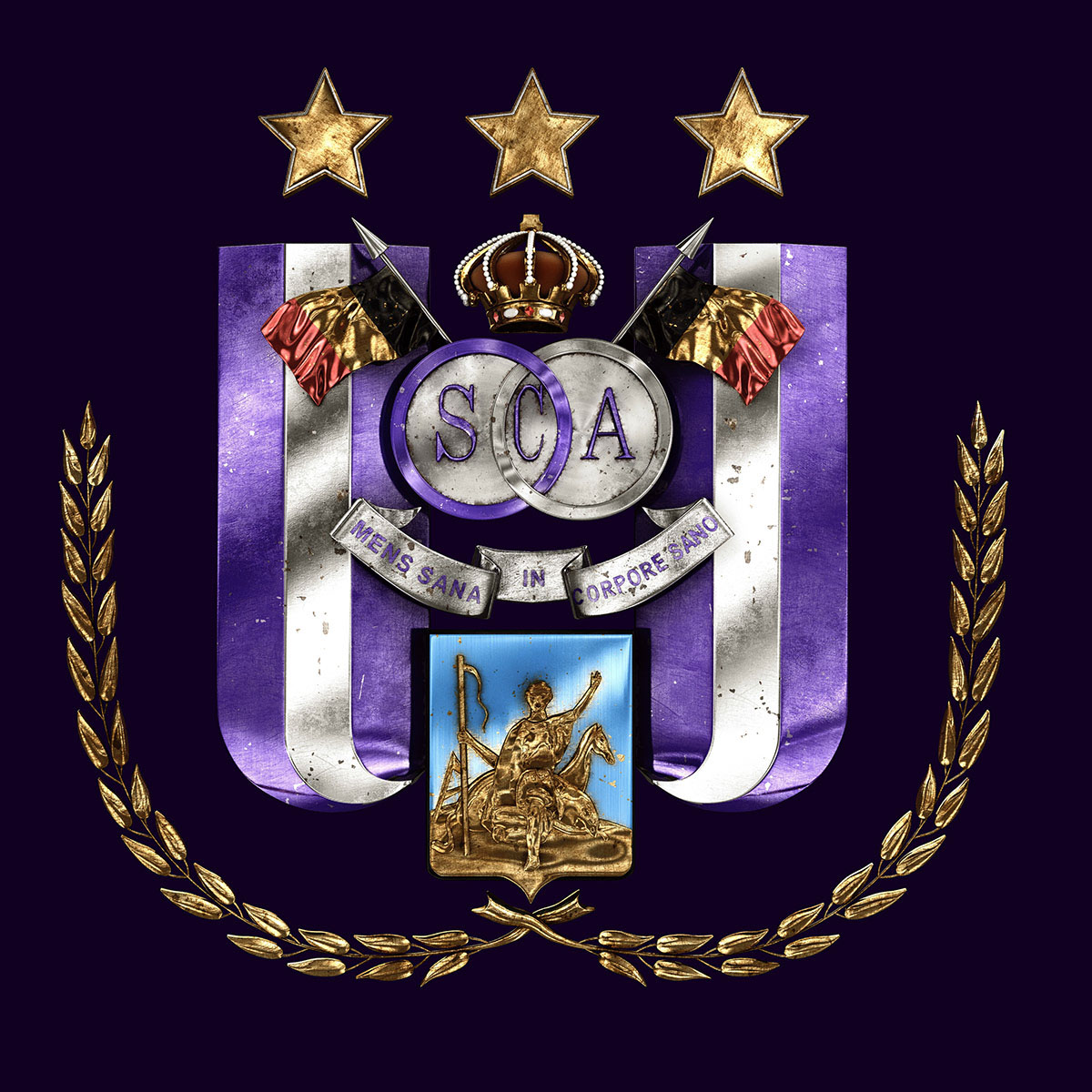 Talisman & Co.   RSC Anderlecht Badge   Andrei Lacatusu