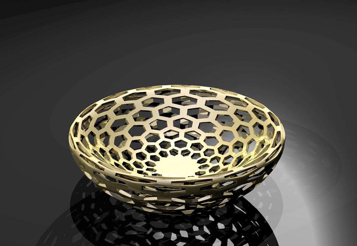 Rhino rhino osx furniture table bowl Shelf BRACKET 3d modeling 3D model housewares home goods