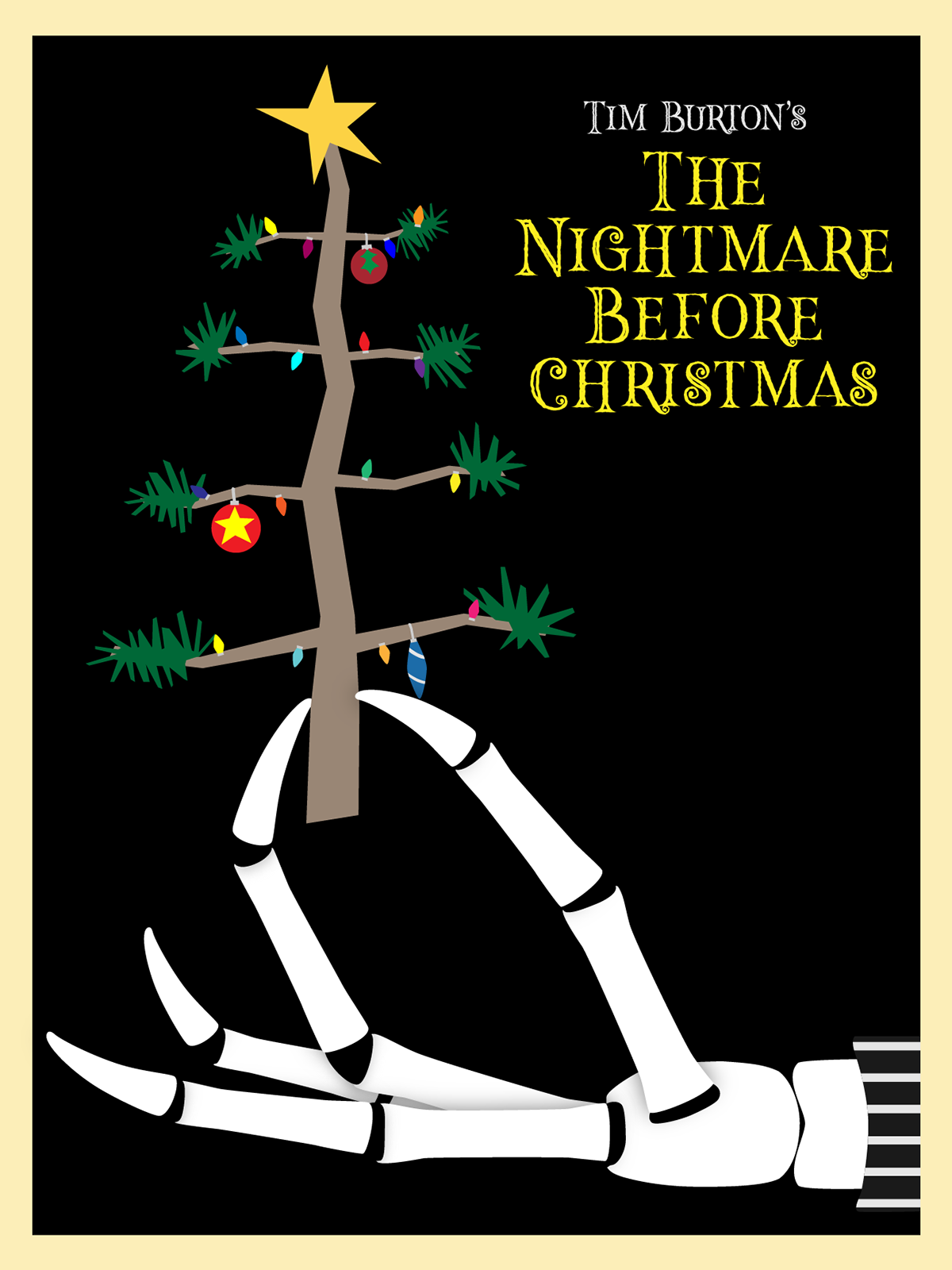 Nightmare Before Christmas Poster on Behance