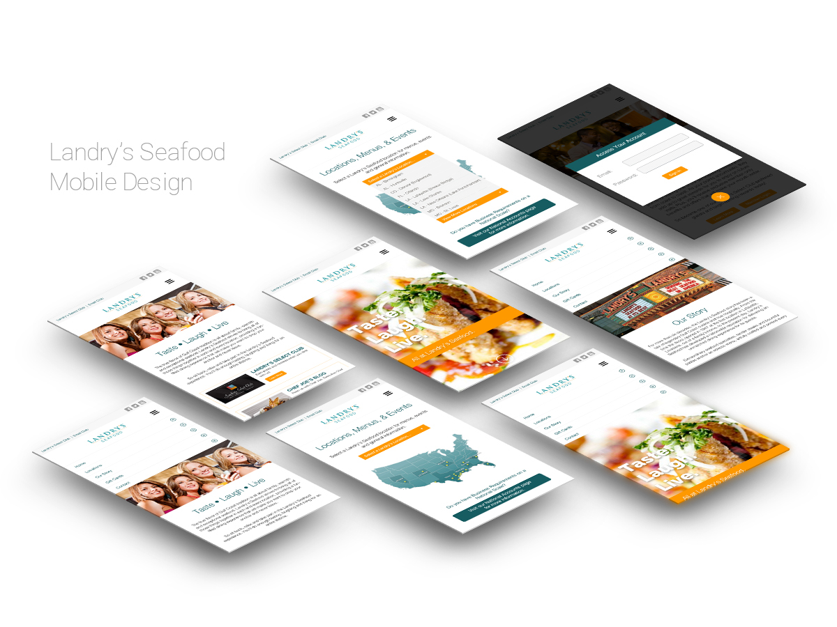 mobile Interface Mockup personal project