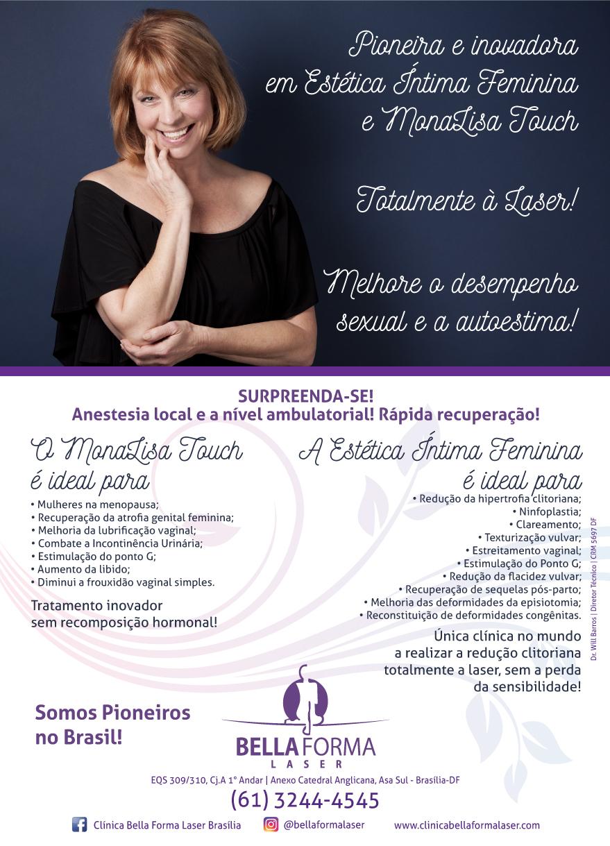Anuncio De Revista E Posts Facebook Bella Forma Laser On