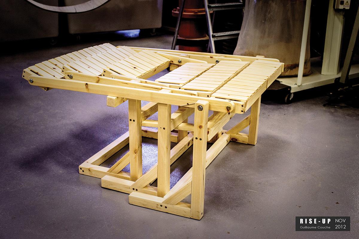 Adobe Portfolio design chair innovation kinetic kinetic art