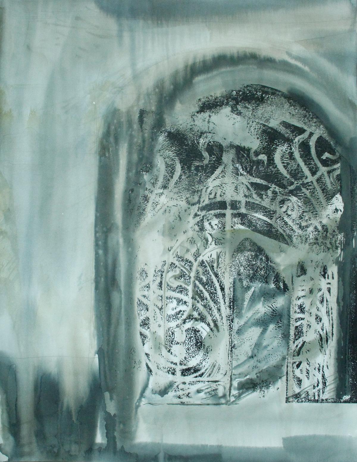 architecture art graphic art monohrome noir watercolor акварель архитектура графика нуар