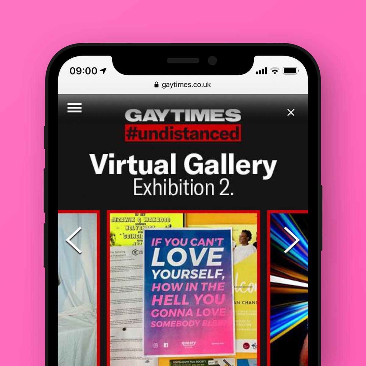Adobe Portfolio queer LGBTQ queery pride campaign design branding  Web adobeawards