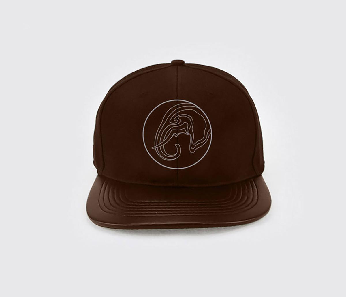 brand identity logo superfried elephants charity leonardo dicaprio leonardo dicaprio foundation elephant crisis fund ILLUSTRATION  contours