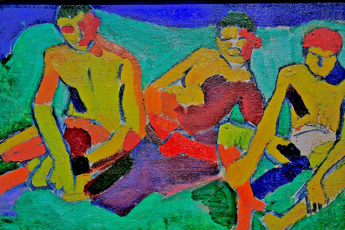 matisse Paul Klee doesburg andré derain sonia delaunay modigliani pompidou Paris