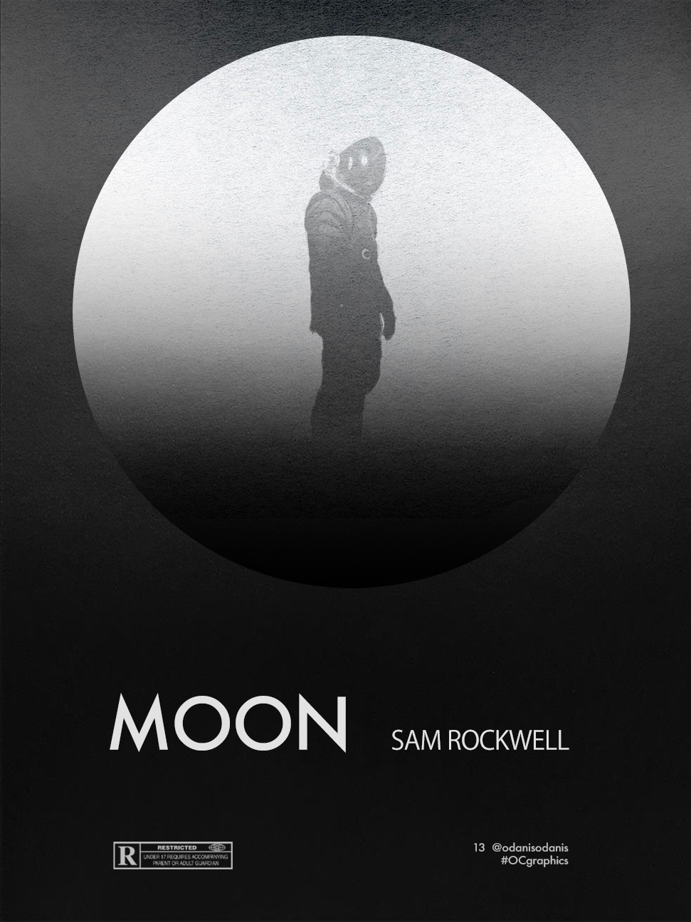 Moon // Movie Poster on Behance