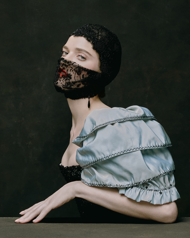 ulyana sergeenko nick sushkevich couture Jewellery