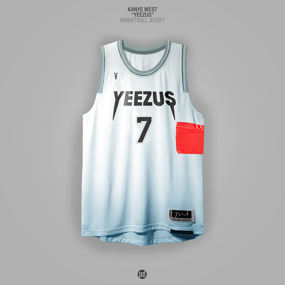 Rap Album Covers x NBA Jerseys on Behance