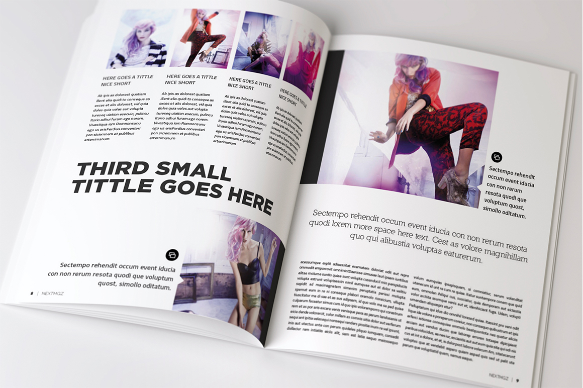 Magazine & Brochure InDesign Templates on Behance