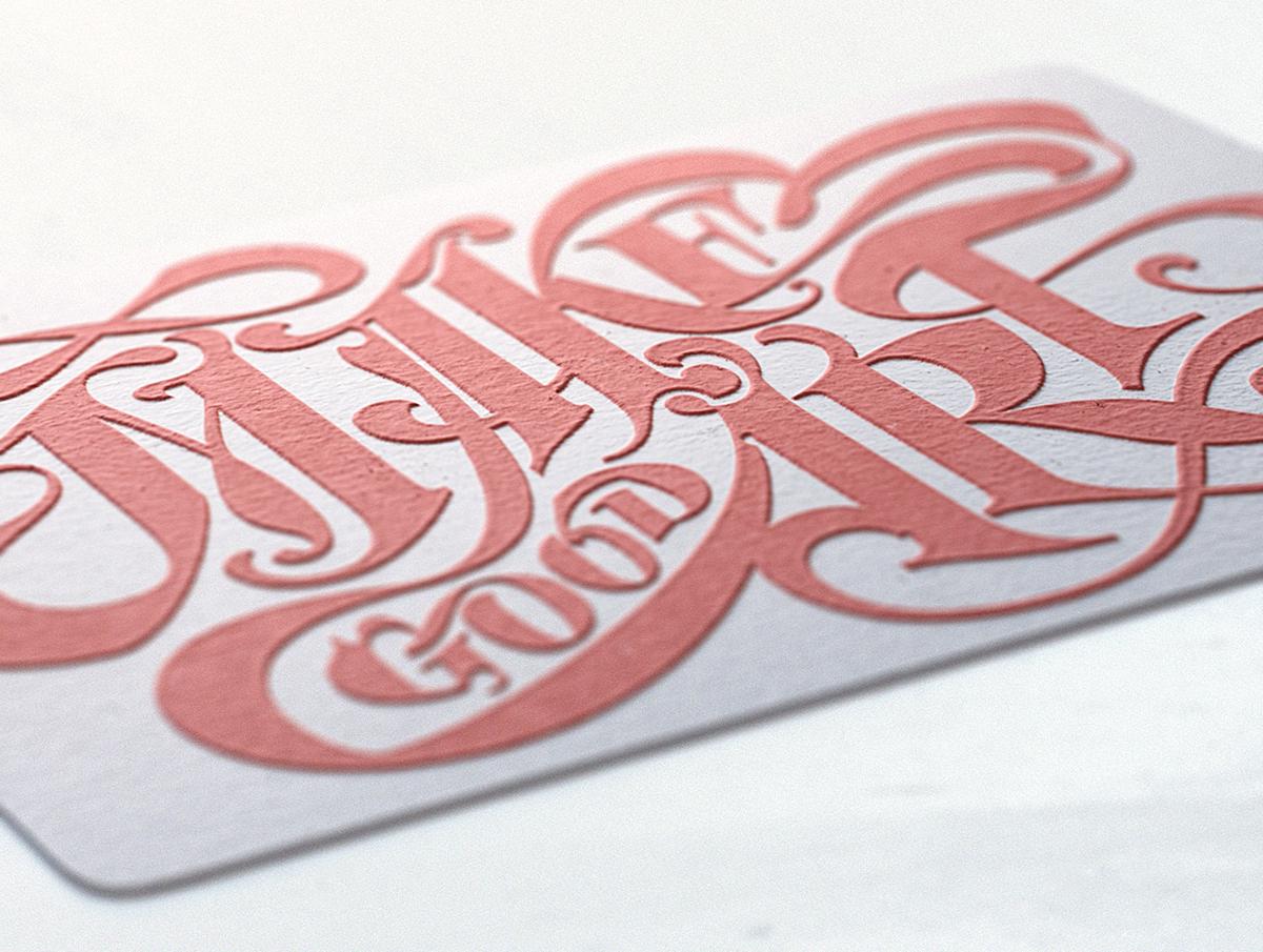 letterpress print postcards emboss paper