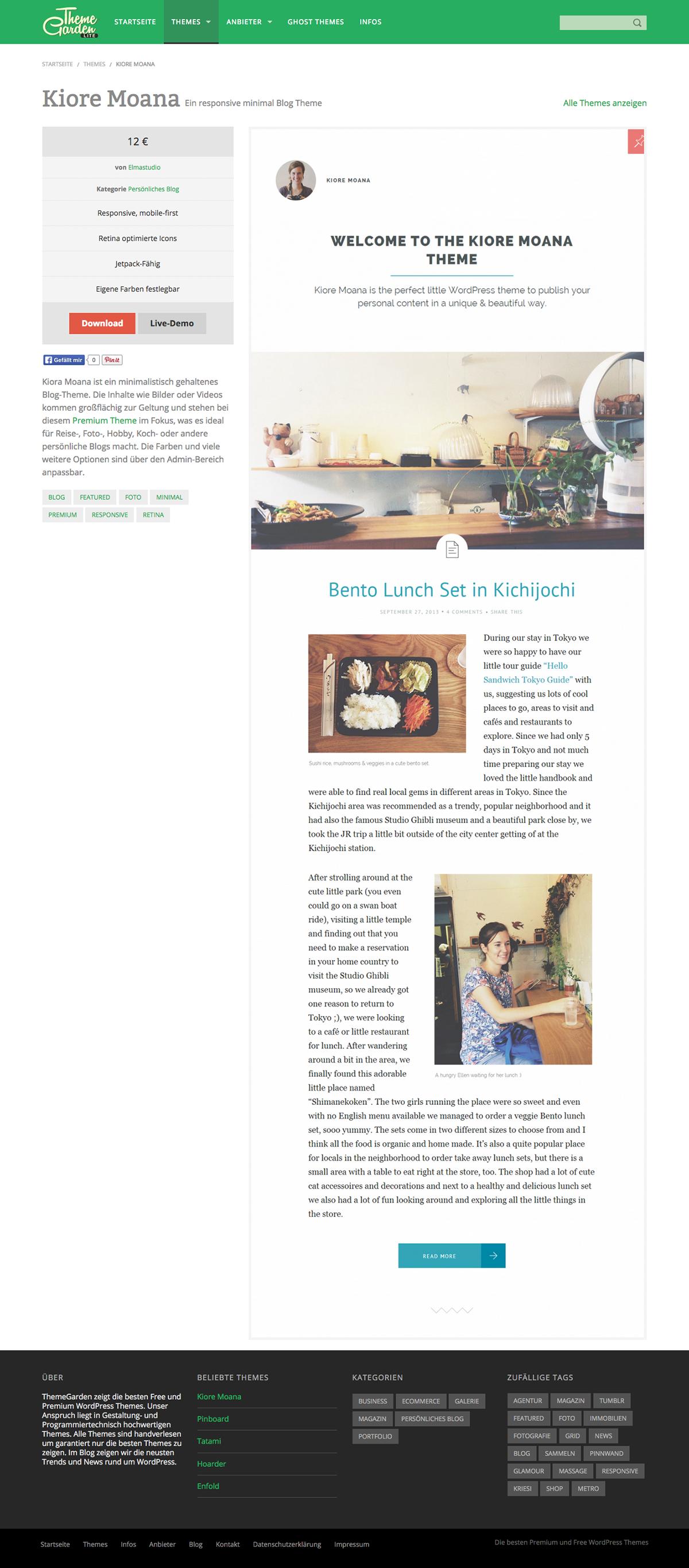 ThemeGarden - A WordPress Theme Gallery