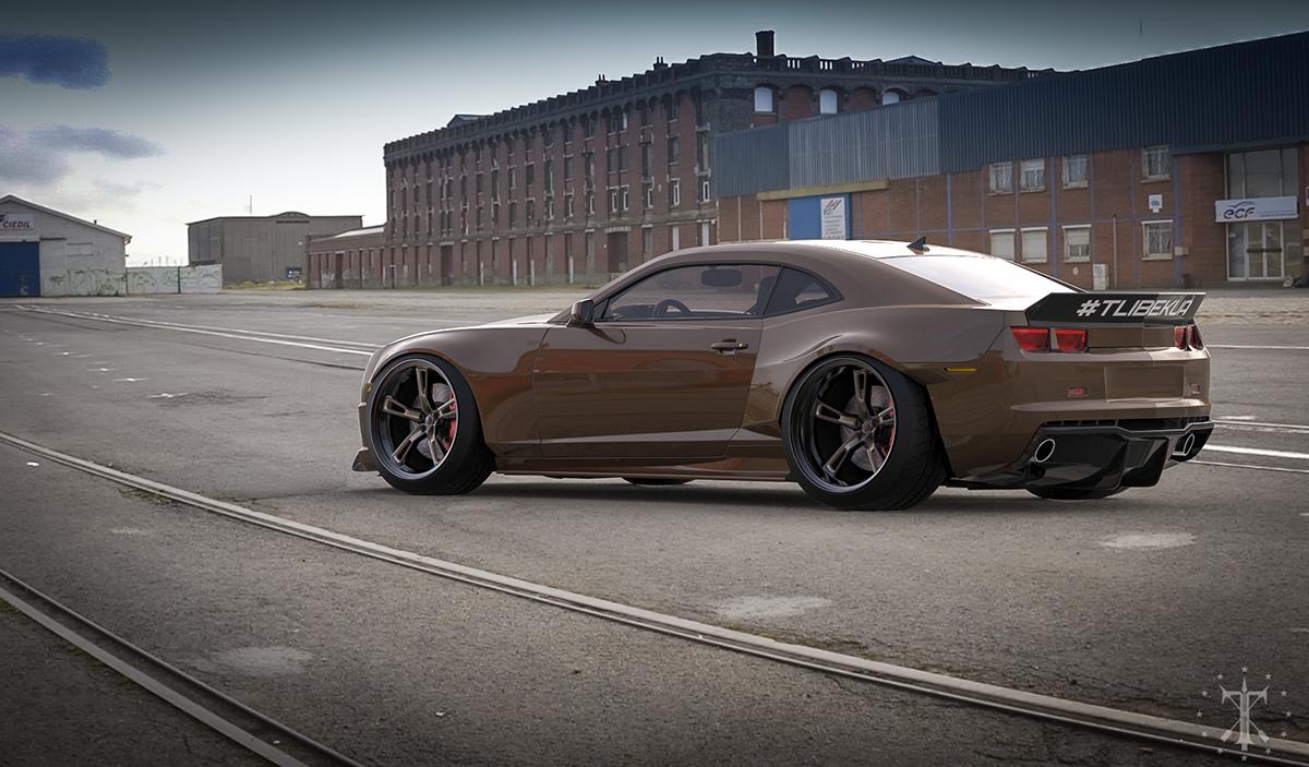 Chevy Camaro Ss Body Kit Virtual On Behance