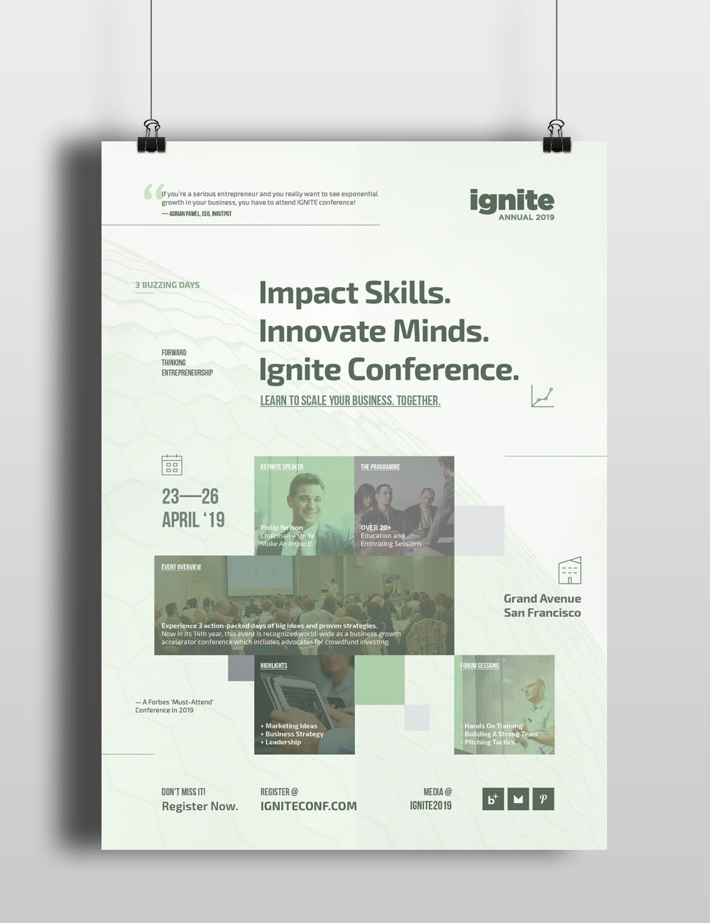 Conference Posters On Behance
