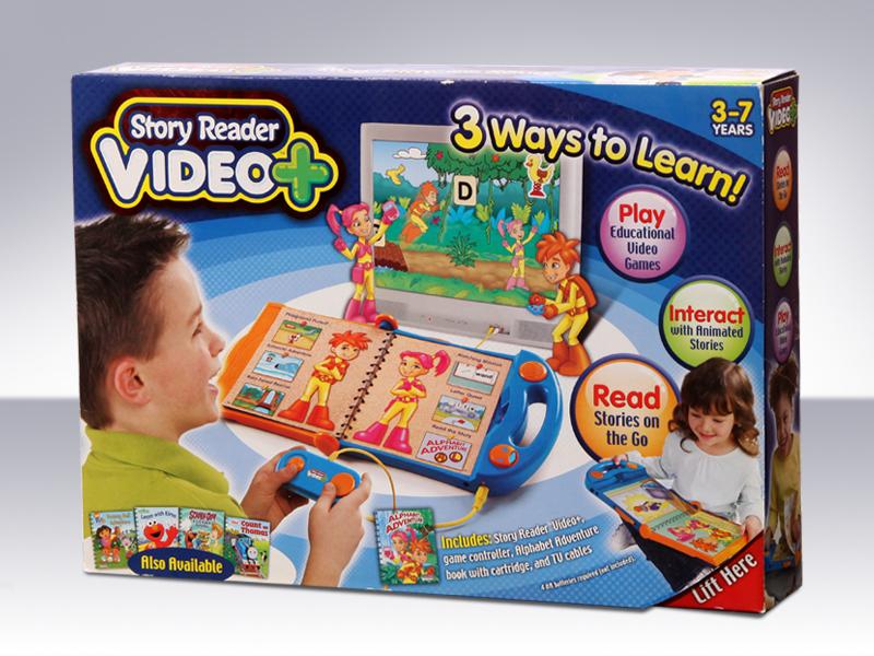 educational toy children interactive Reading merchandising