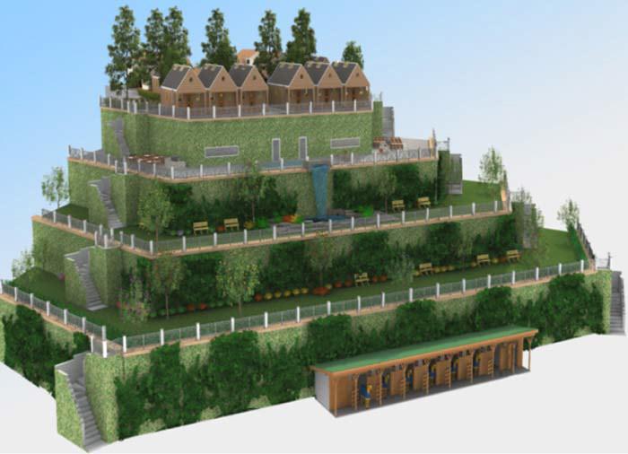 3d modeling 3D Rendering 3D Visualization architectural project Architectural rendering residential property
