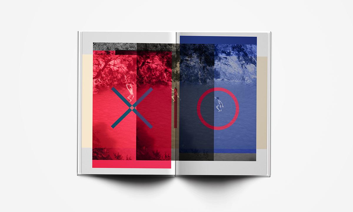 magazine holidays Algarve editorial design