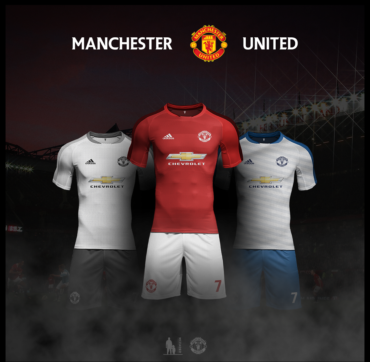 lowest price b2ac5 70600 Manchester United FC | Kit Concept .. on Student Show