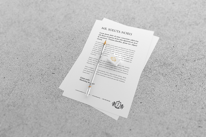 Delightful Free Letterhead Mockup. Published: May 11, 2015. Get The Free Download  Here: DOWNLOAD FOR FREE File Types: PSD, Resolution: 3000x2000 Px