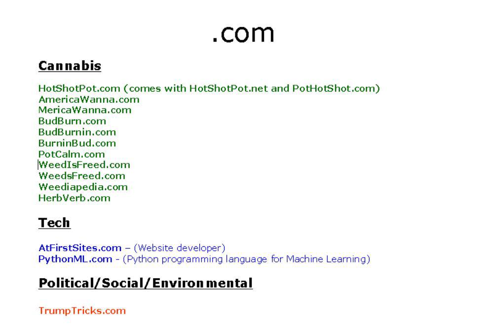 Domain domains domain names domain hacks domain name hacks domain brokering domain name brokering domains for sale selling domain names branding