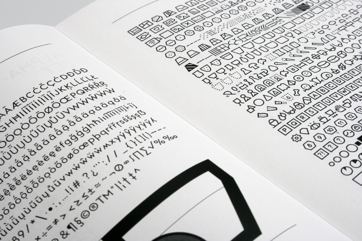 font pictograms type design archeology doctorate