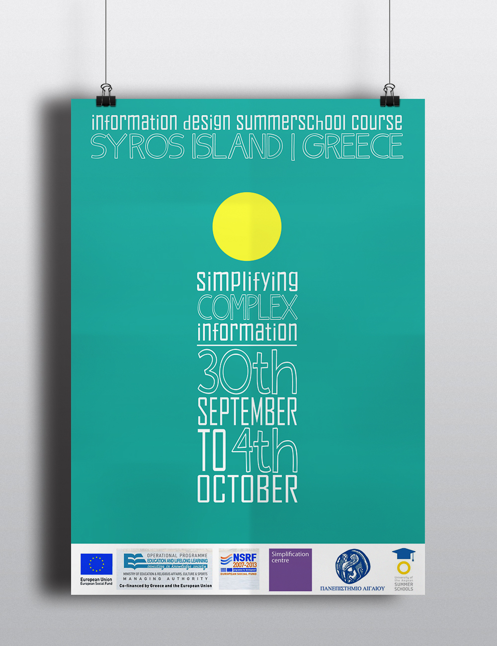 Info Design summer school on Behance