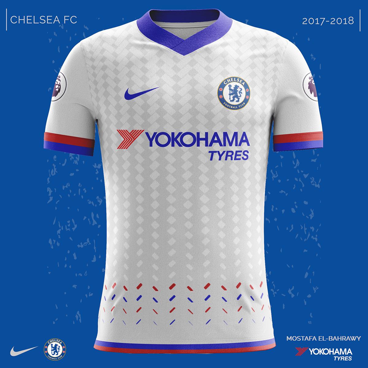 brand new eaca6 dc48f Chelsea Nike Kits (2017-2018) on Behance