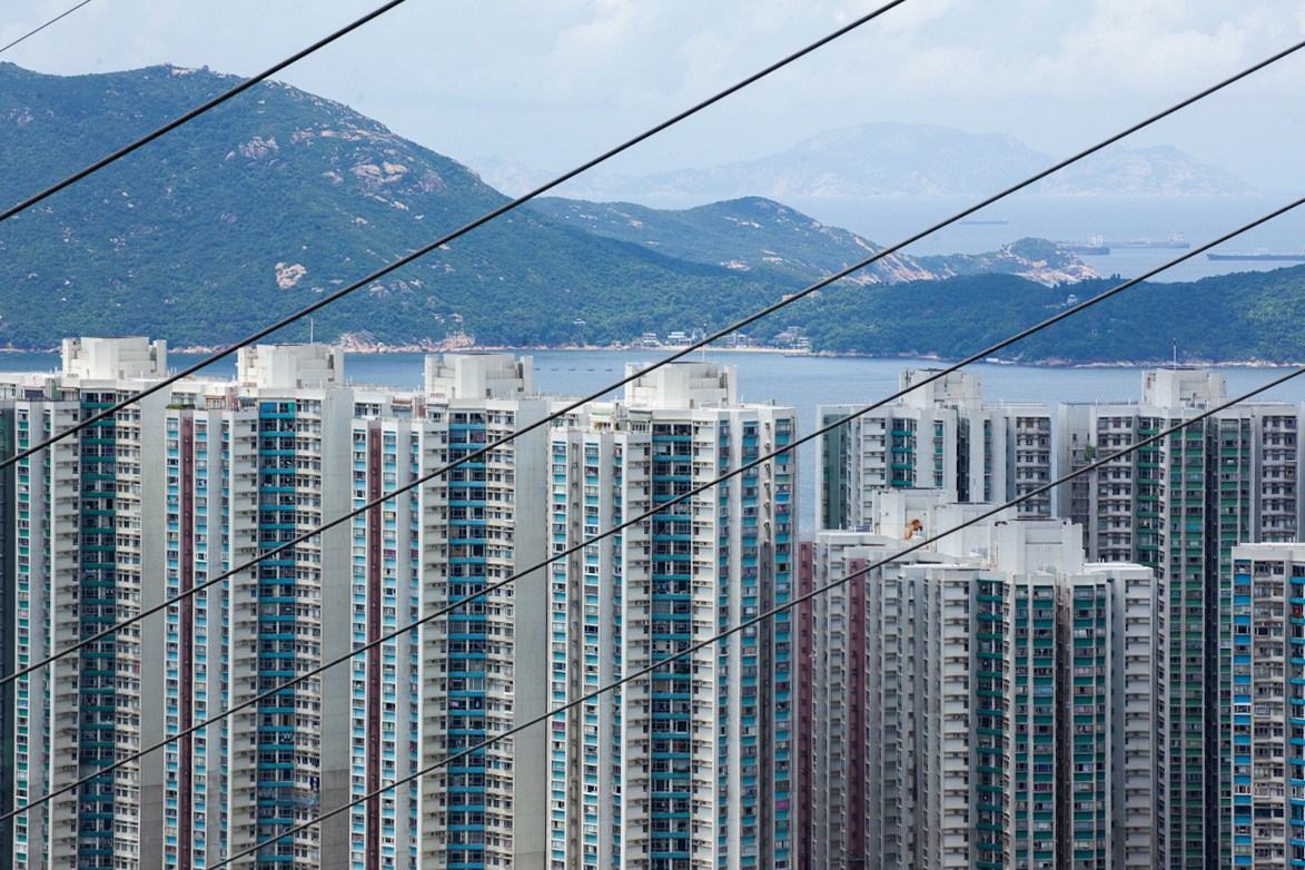 buildings geometry high Hong Kong lines