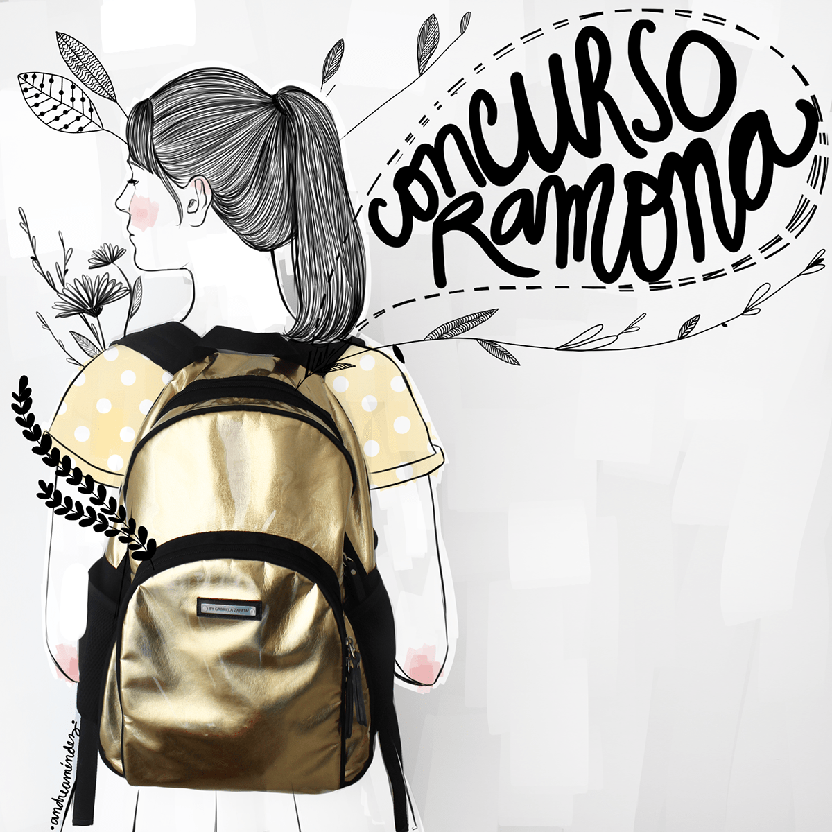 backpack brand girl contest