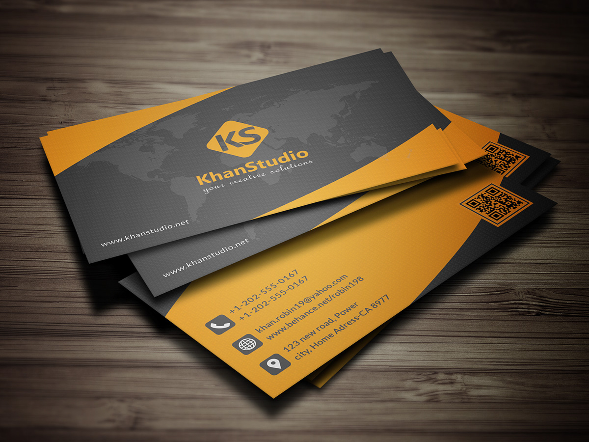 Psd Business Card Templete On Behance