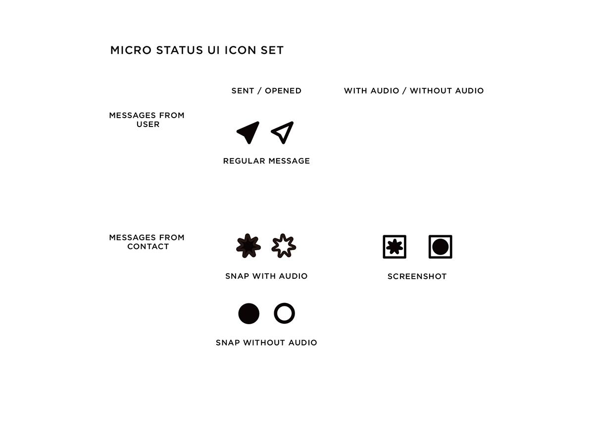 App Icon Set: Redesign Snapchat on SAIC Portfolios