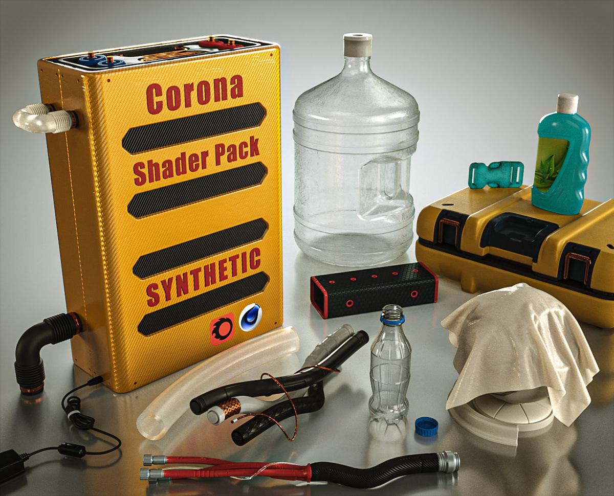 corona material library c4d