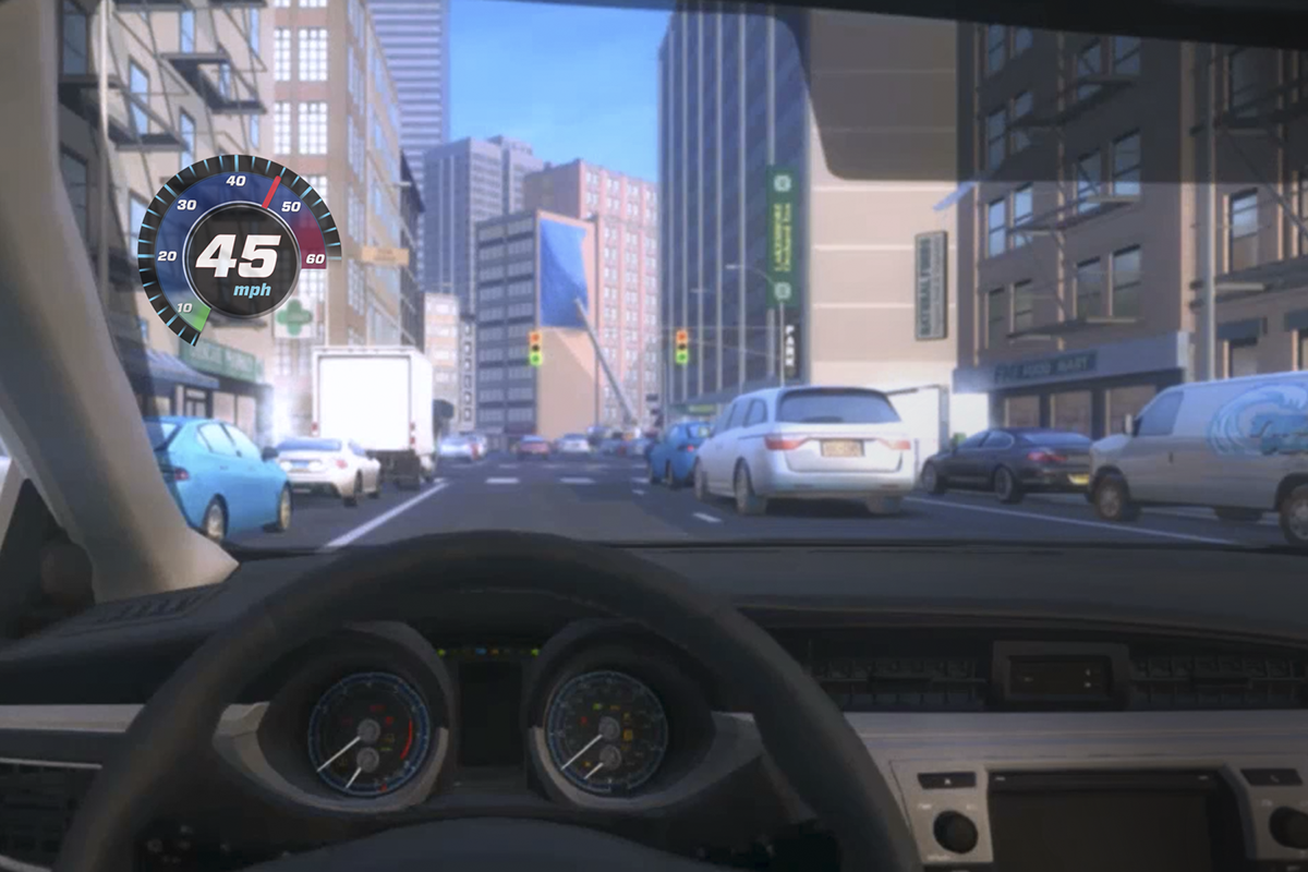 Toyota TeenDrive 365 Distracted Driver VR experience on Behance