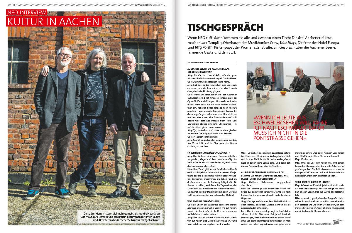 Aachen,Urban,NEO,magazine