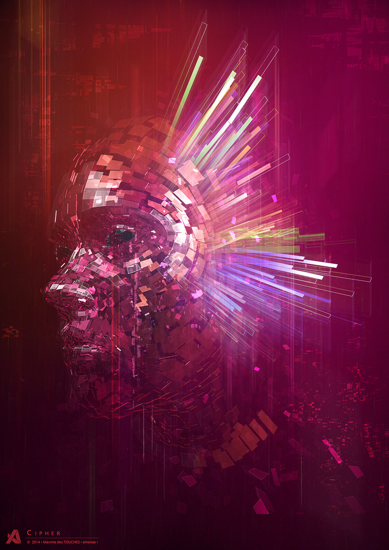 The Artifice phase one Emergence abstract Exhibition  digital 3D