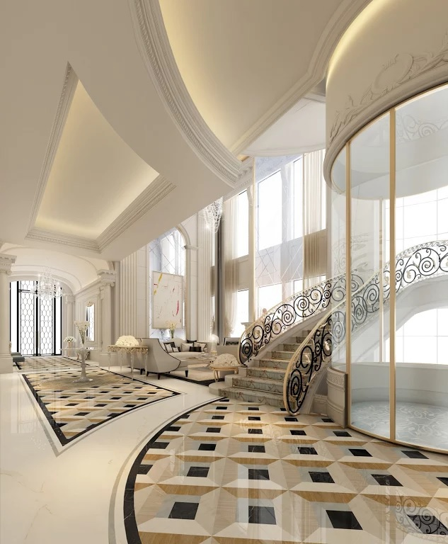 Luxury interior design dubai united arab emirates on behance for Interior design villa project