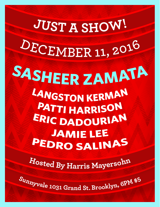 Comedy show poster 3