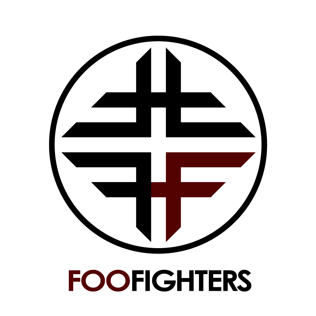 Logo Concept For The Band Foo Fighters On Behance