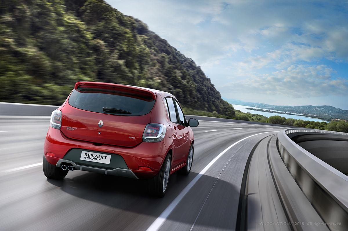 Renault Sandero Rs On Behance