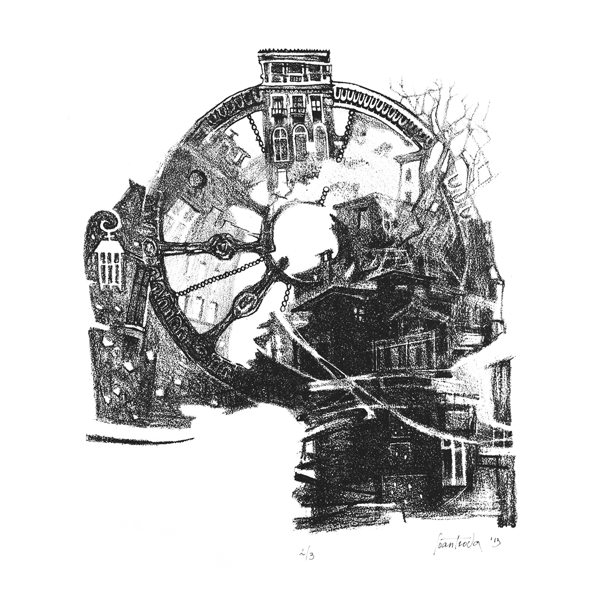 lithography graphic