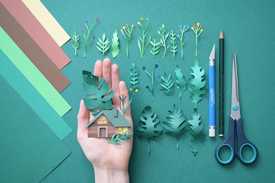 Beautiful Paper Art Work by Margaret Scrinkl   LaptrinhX