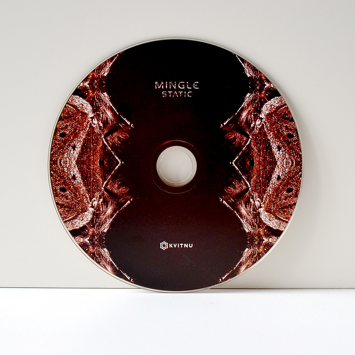 Mingle static Zavoloka Kvitnu experimental music cover design electronica